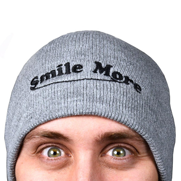 Smile More Beanies