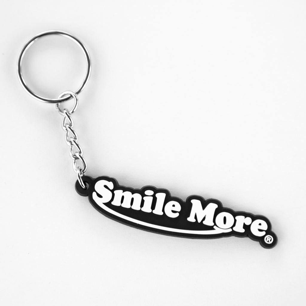 Smile More Classic Key Chain