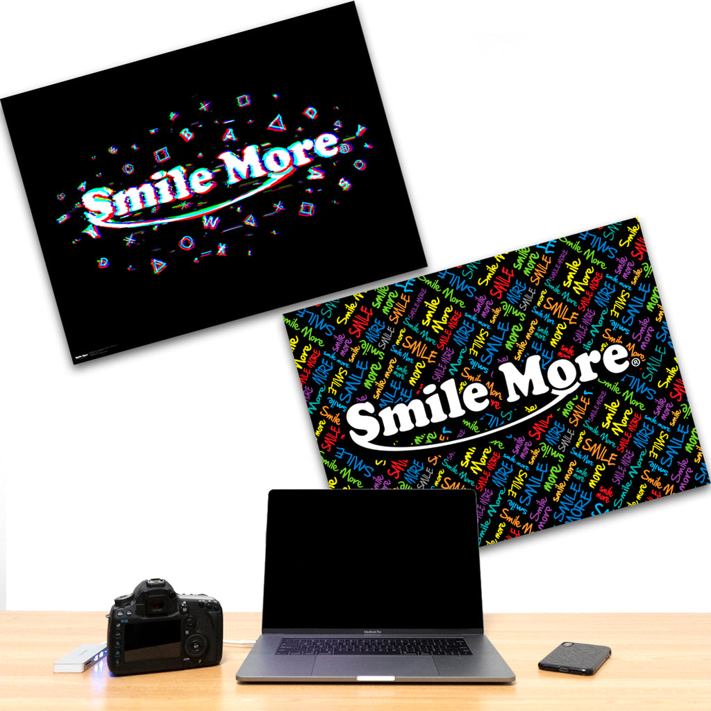 Smile More Poster - 18x24 Double Sided