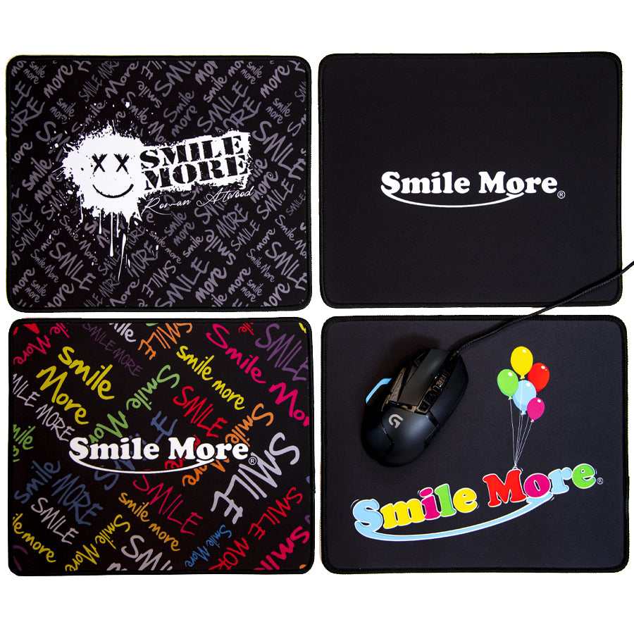 Smile More Mouse Pad - Standard Size