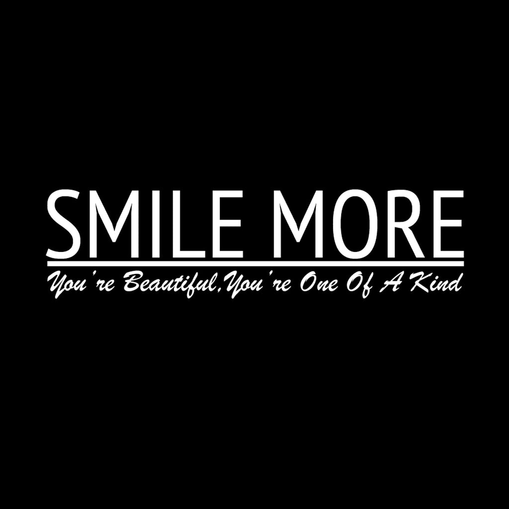 Smile More Line Tee