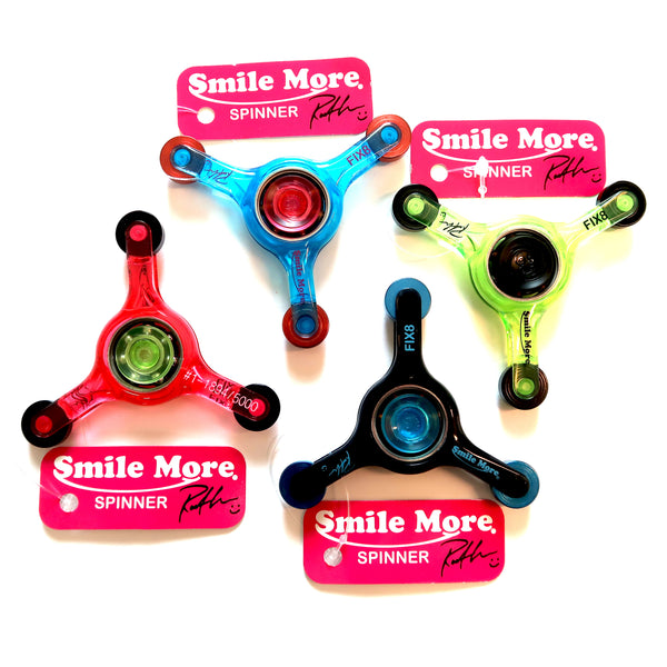 Smile More Fidget Spinners Collection #2