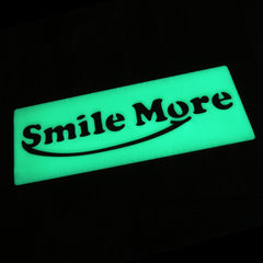 Smile More Stencil Ruler