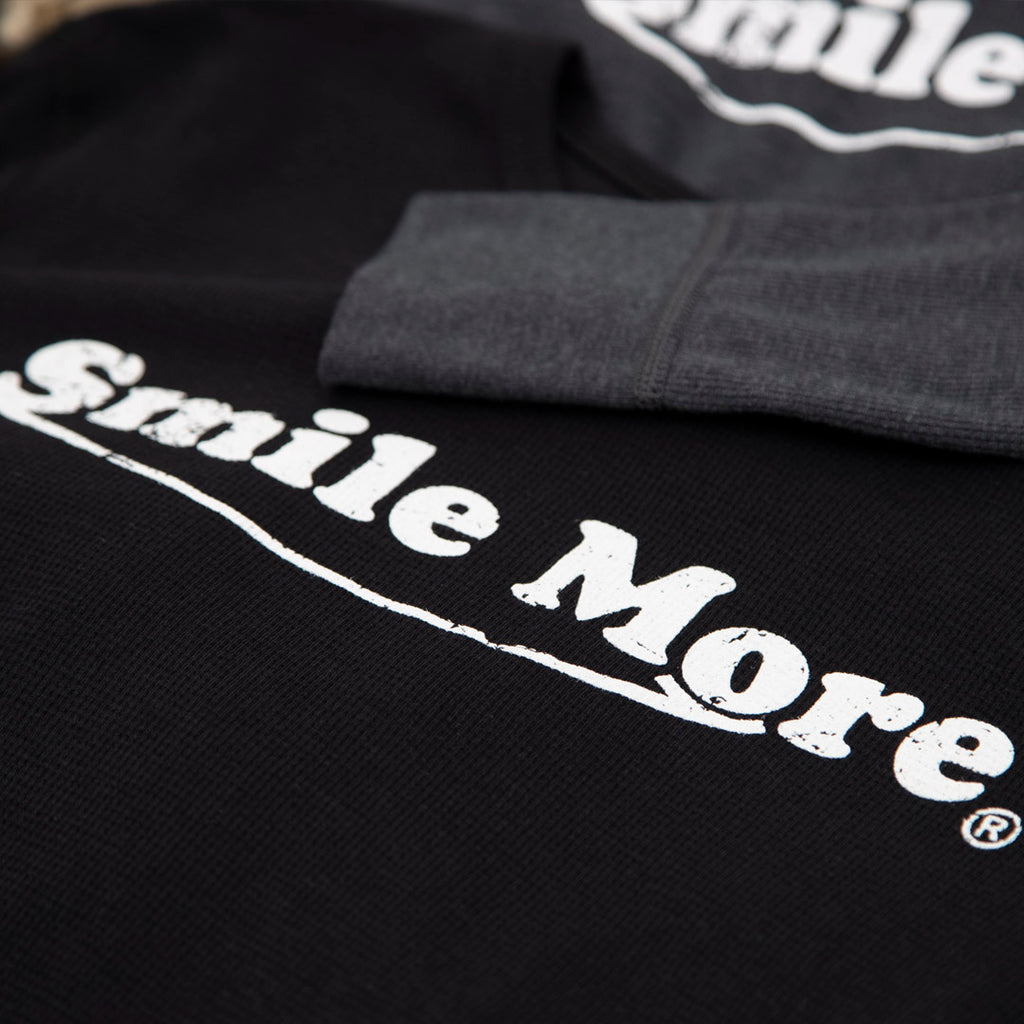 Smile More Thermals - Long Sleeve