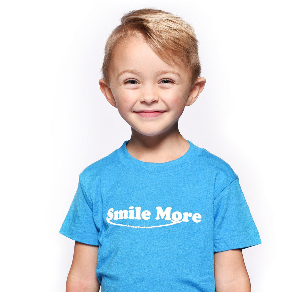 smile more t shirts toddlers the smile more store