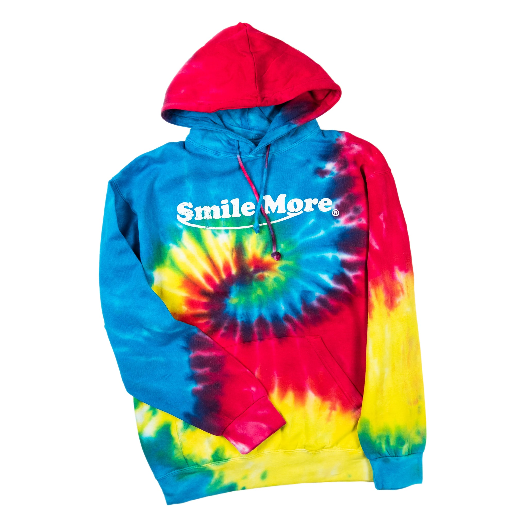 Pullover Tie Dye Distressed Classic Hoodie (All Sizes)
