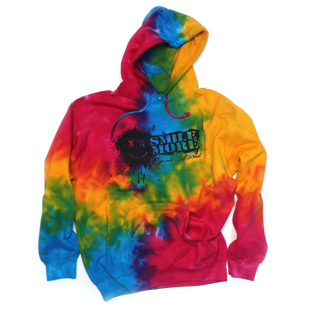 Pullover Tie Dye Splatter Hoodie (All Sizes)
