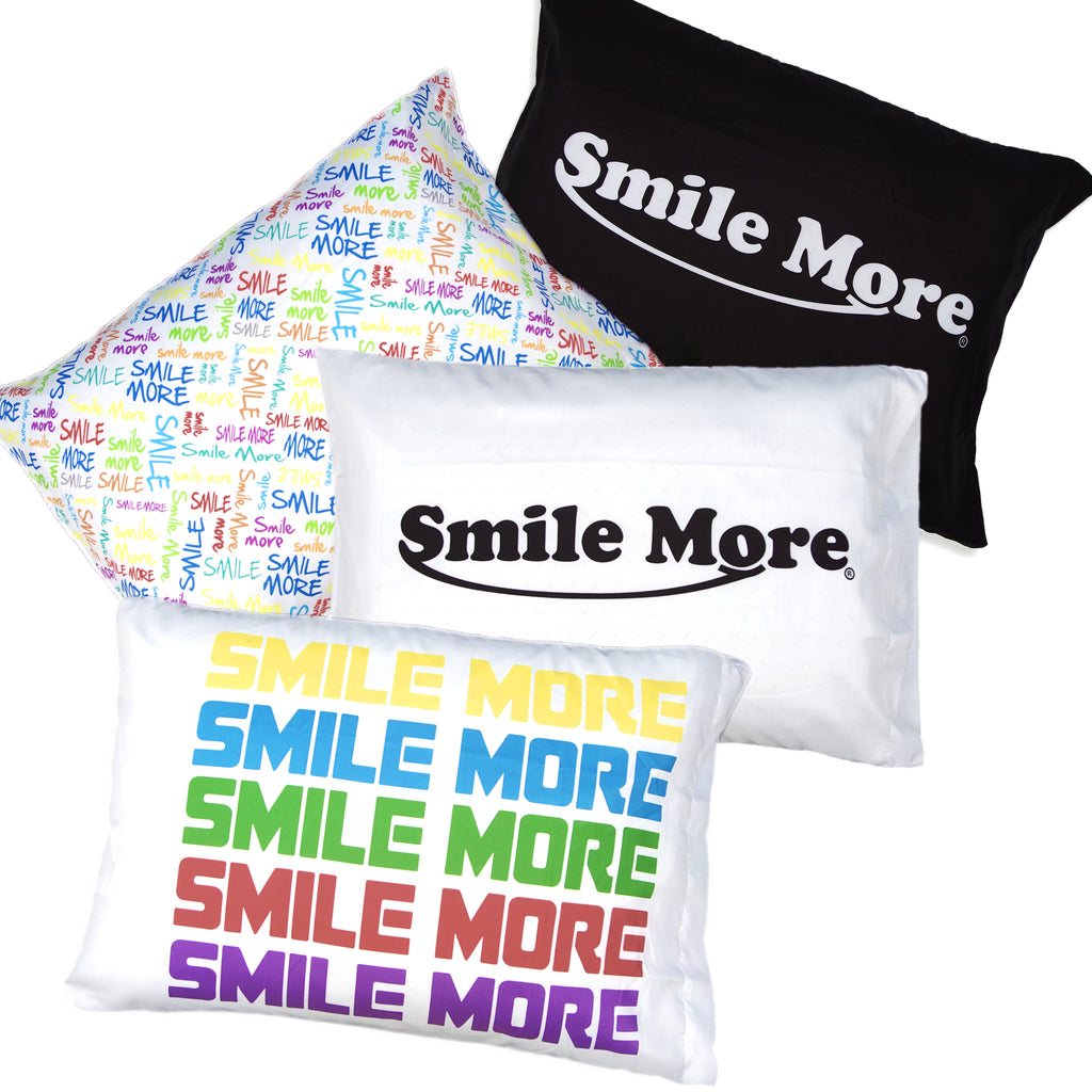 Smile More Pillow Cases