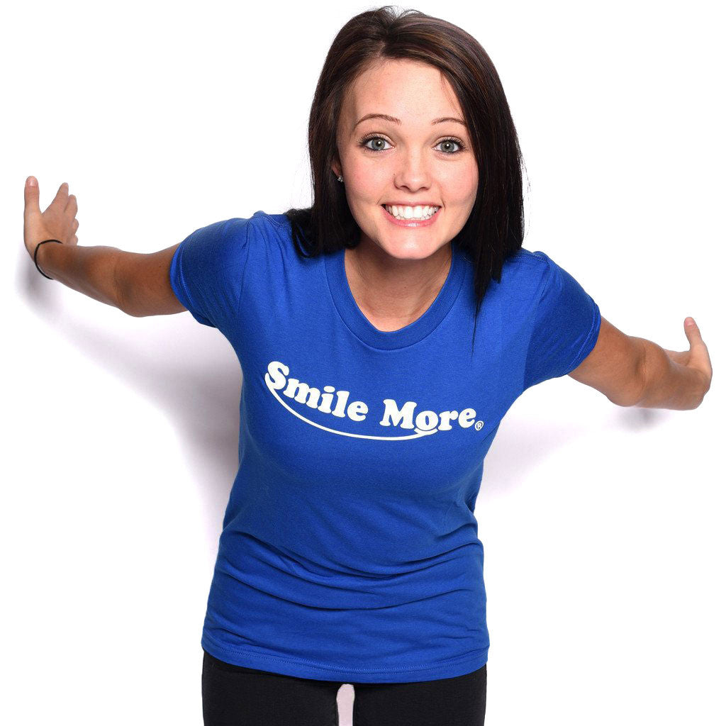 Smile More T-Shirts (Women's)