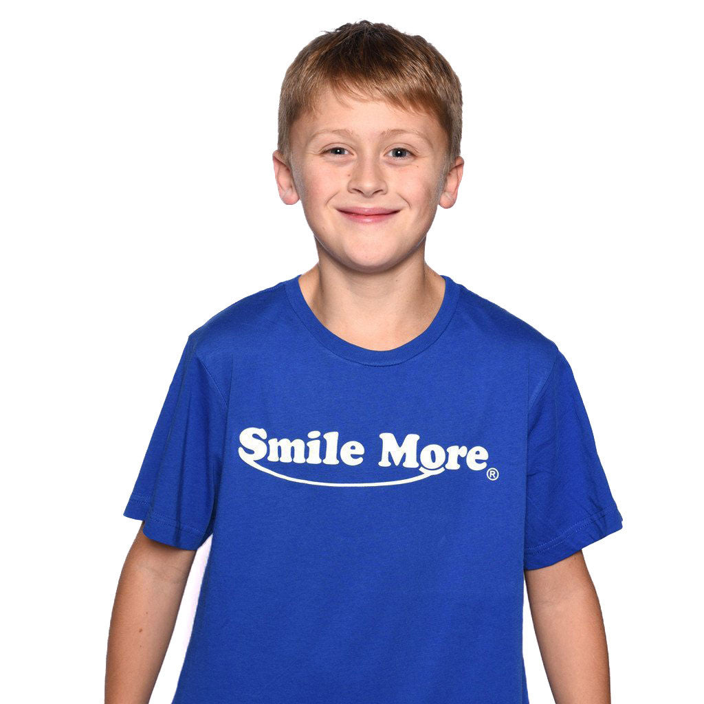 Smile More T-Shirts (Kids)