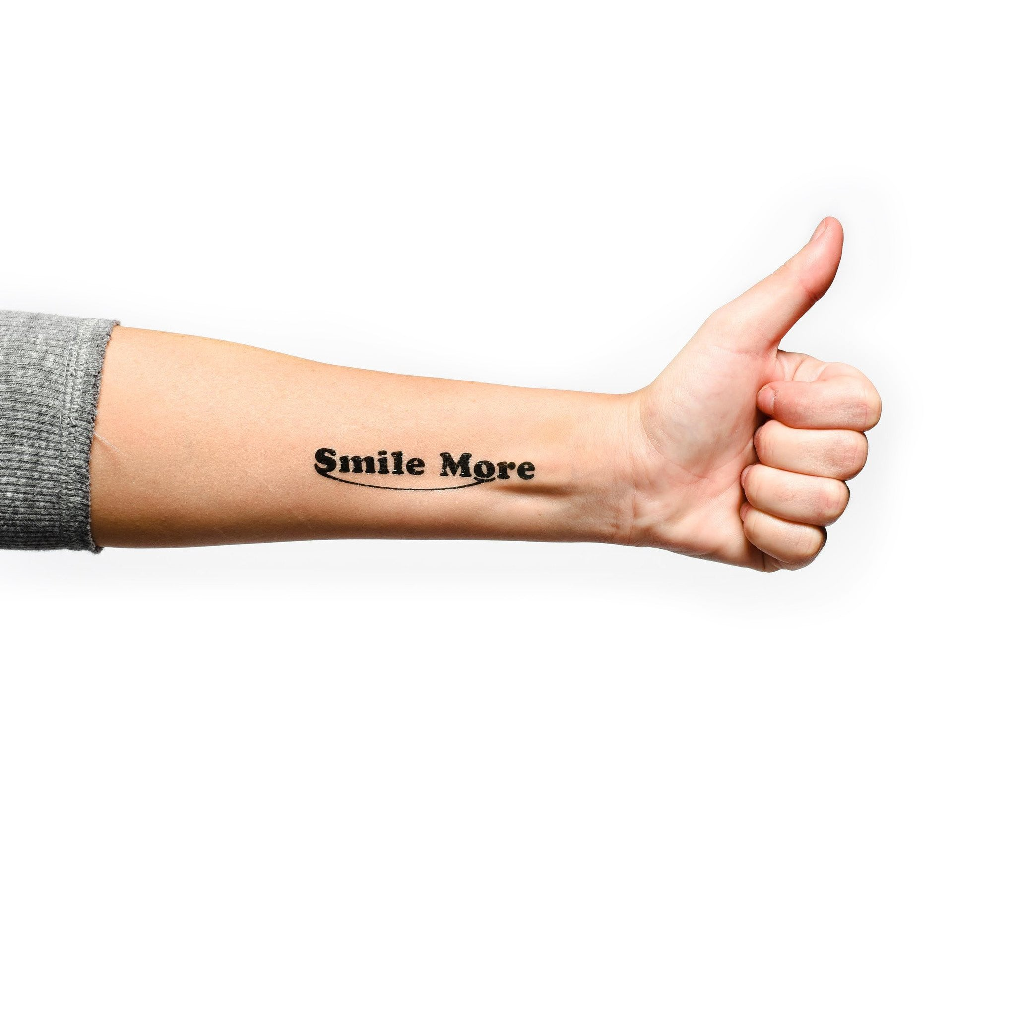 smile more temporary tattoo 4 pack the smile more store