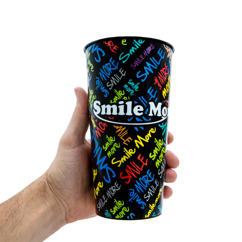 Smile More Jumbo Cups - 32oz