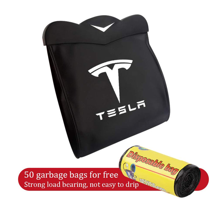 Tesla Rear Trash Bin [Waterproof w/ LED] | Tesla Model 3 & Y