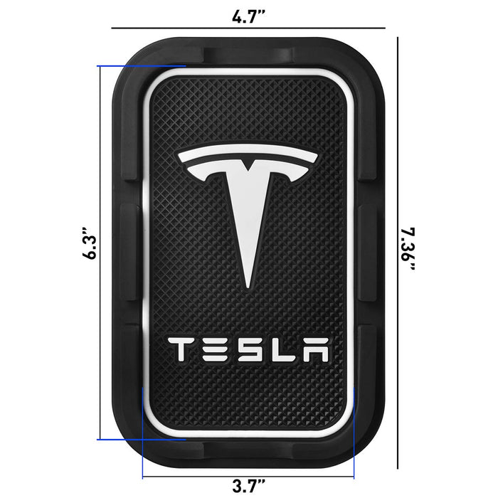 Anti-Slip Dashboard Mat Cell Phone Holder | Tesla Model S/3/X/Y - S3XY Models