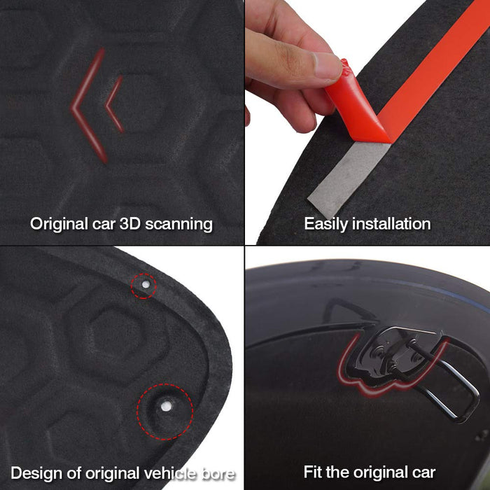 Frunk Soundproof Protective Pad | Tesla Model 3 - S3XY Models