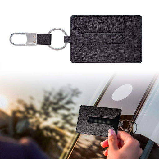 Tesla Model Y Leather Key Card Holder - S3XY Models