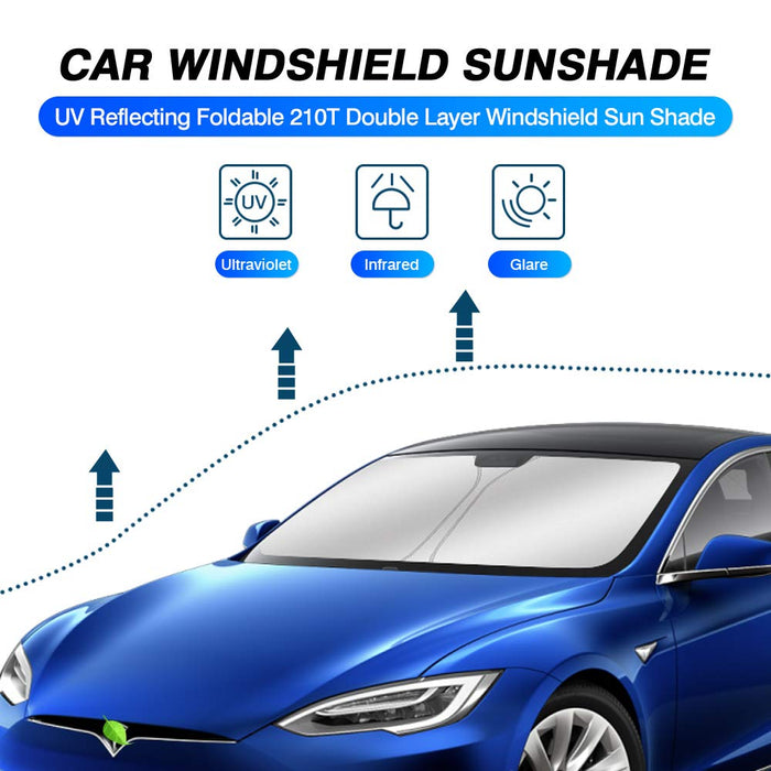 Windshield Sunshade | Tesla Model S Sedan 2012-2020 - S3XY Models
