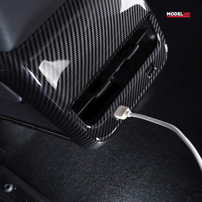 Carbon Fiber Rear Air Vent Cover | Tesla Model 3 - S3XY Models
