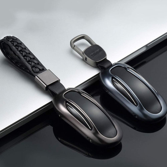 Key Fob Case (Dark Gray) | Tesla Model X - S3XY Models