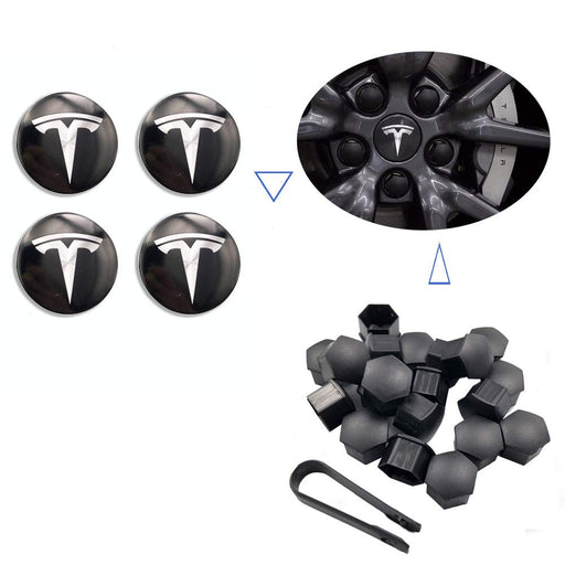 Aero Wheel Cap Kit | Tesla Model 3 - S3XY Models