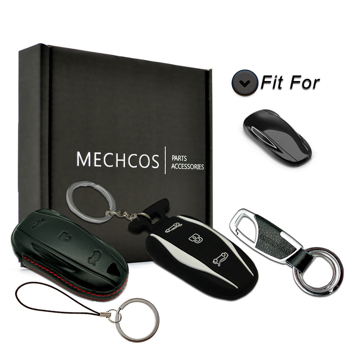Leather Key Fob Case | Tesla Model S - S3XY Models