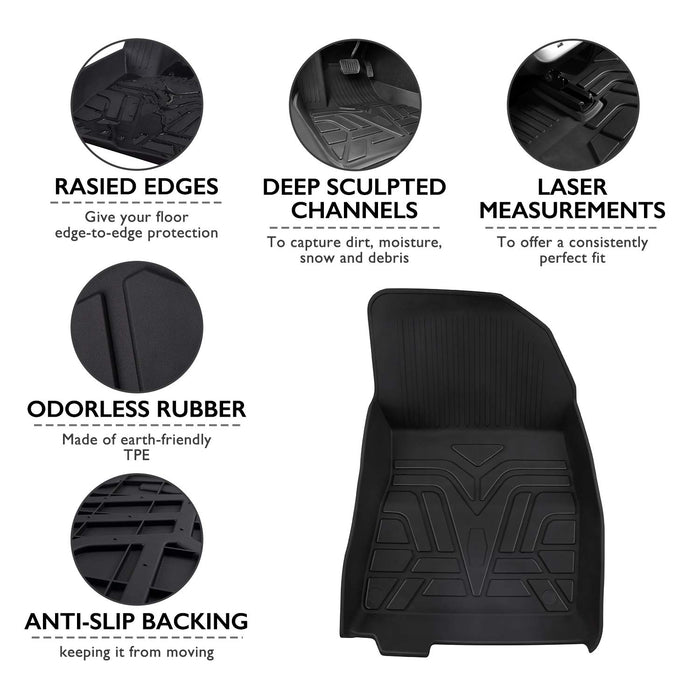 All-Weather Floor Mats | Tesla Model 3 - S3XY Models