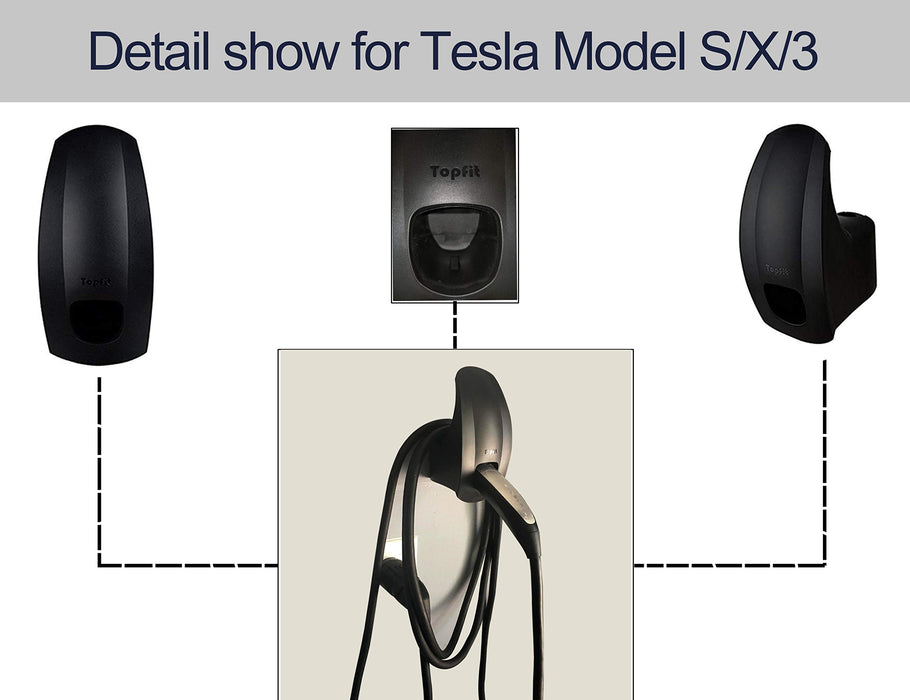 Wall Charging Cable Organizer | Tesla Model S/3/X/Y - S3XY Models