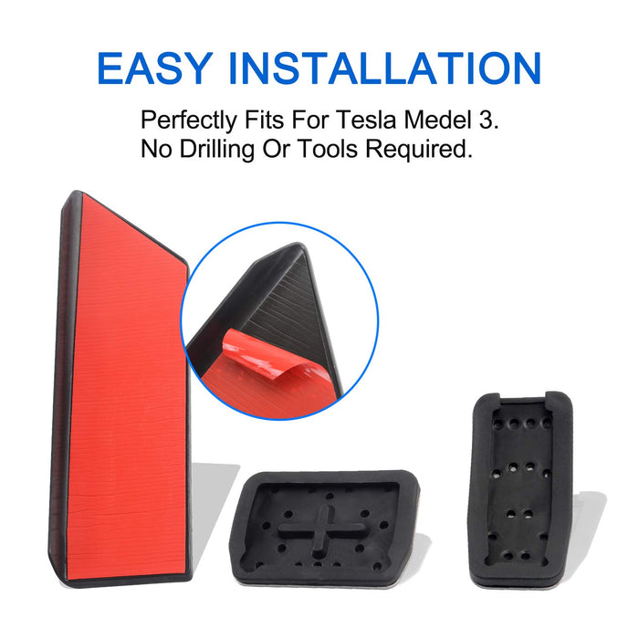 Performance Anti-Slip Foot Pedal Covers & Dead Pedal | Tesla Model 3 (2018-2021)