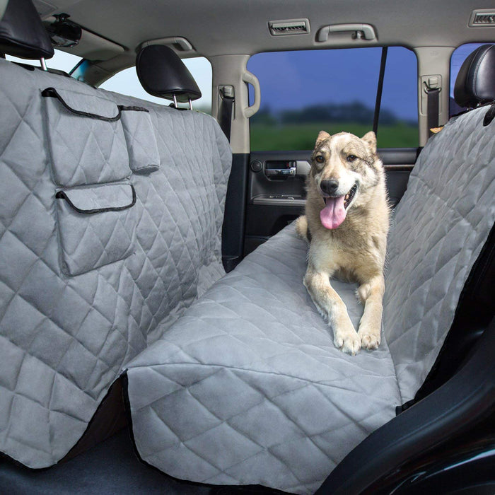 Dog Seat Cover w/ Step-down | Tesla Model 3 S Y