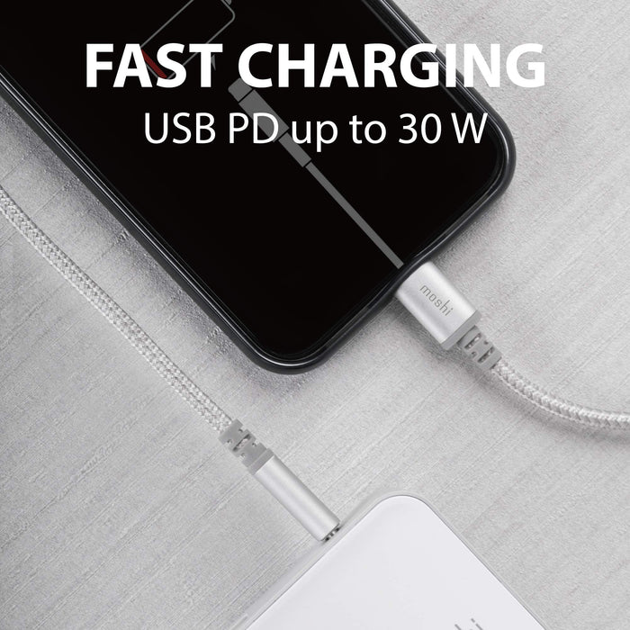 Moshi USB C Cable to Lightning | Tesla Model S/3/X/Y - S3XY Models