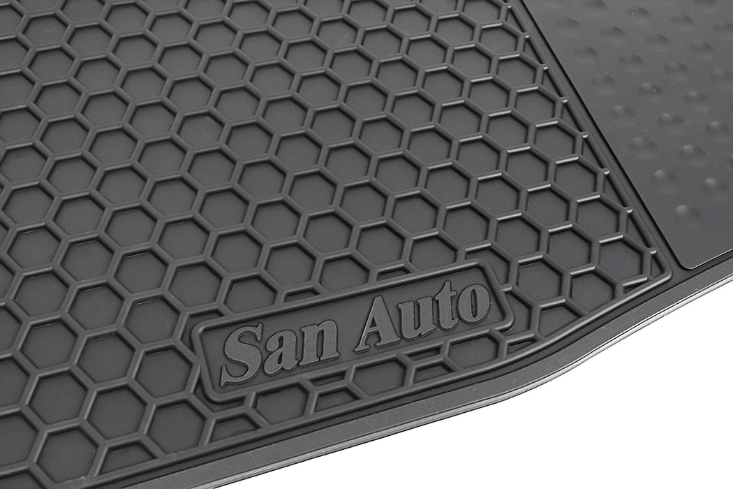 Floor Mats | Tesla Model 3 '17-'20 | Black - S3XY Models