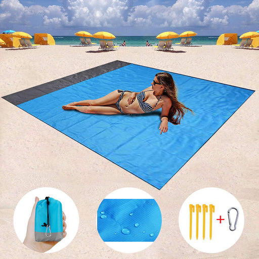 Portable Waterproof/Sand Free Beach Blanket | CAMPER MODE - S3XY Models