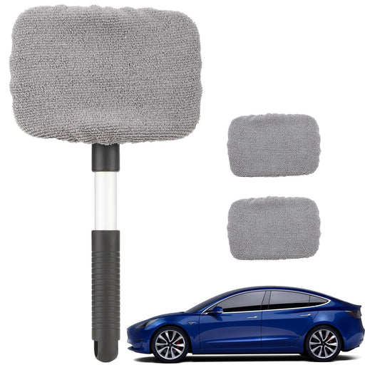 Microfiber Windshield Cleaning Tool | Tesla Model S 3 X Y - S3XY Models