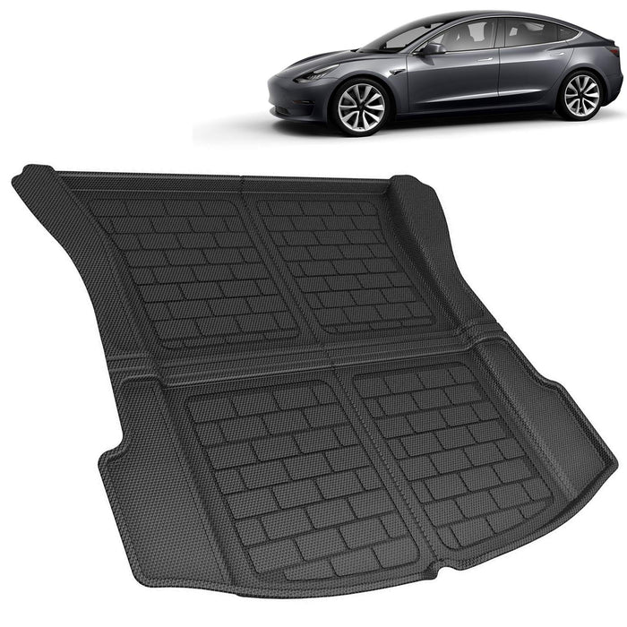 Cargo Liner Rear Trunk Mat | Tesla Model 3 - S3XY Models