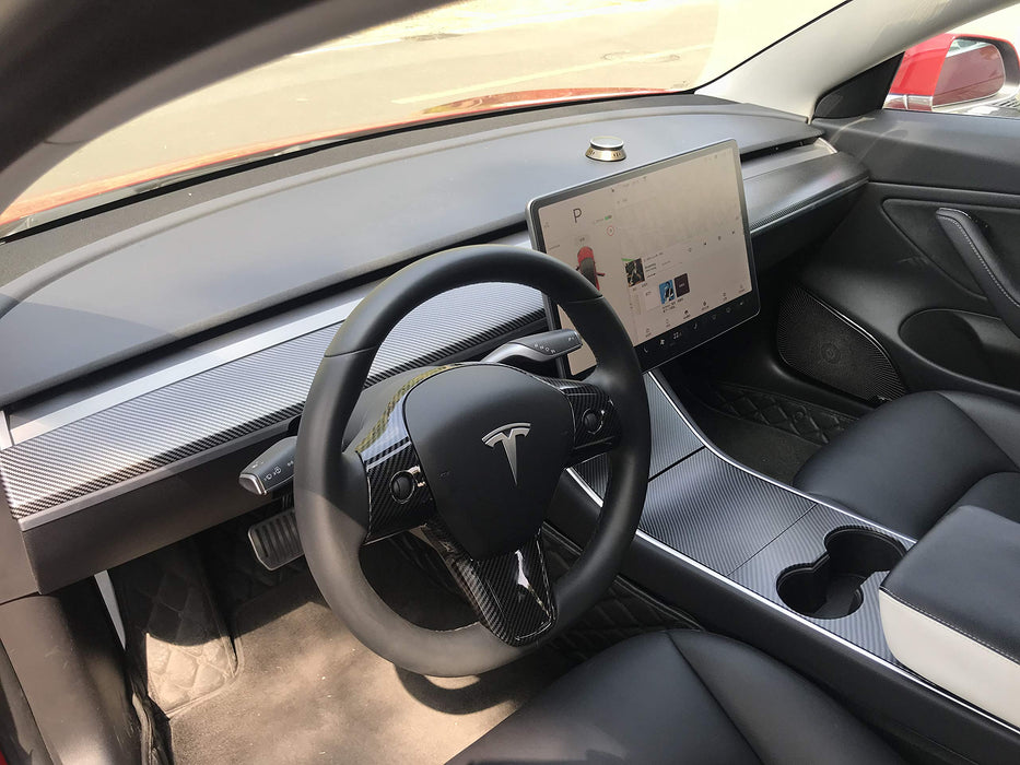Dashboard Cover (Matte Carbon) | Tesla Model 3/Y - S3XY Models