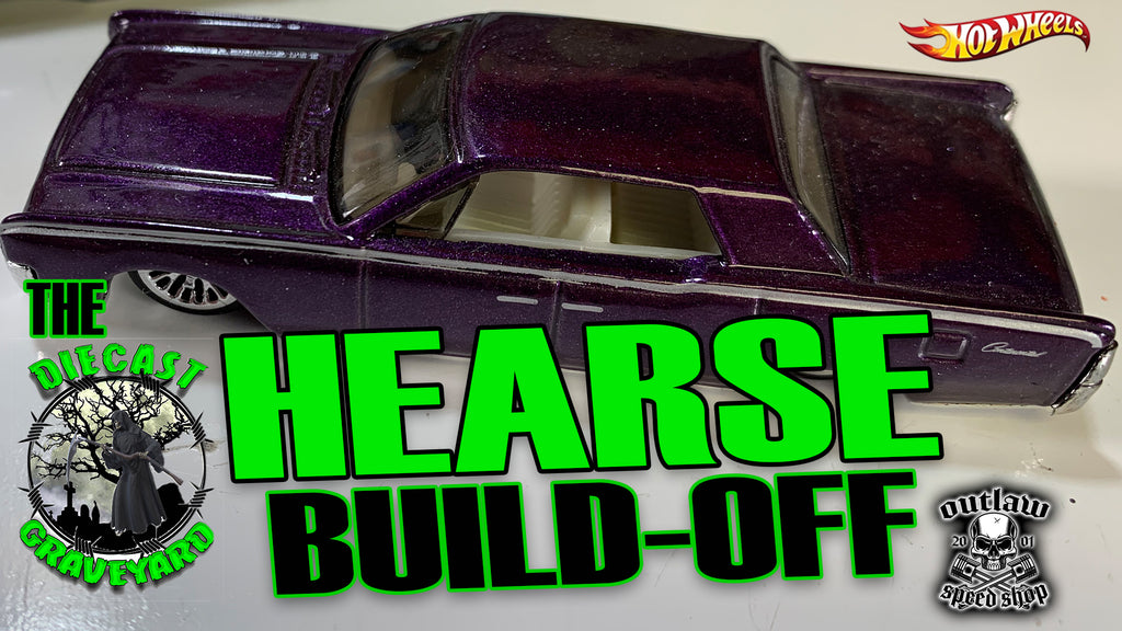 Diecast Graveyard Hearse Build