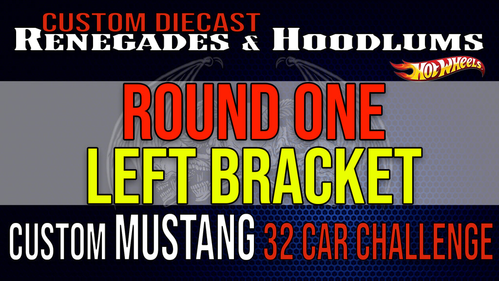 32 Car Mustang Challenge Round 1- Left Bracket