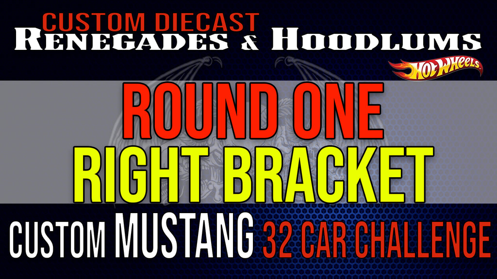 32 Car Mustang Challenge Round 1- Right Bracket