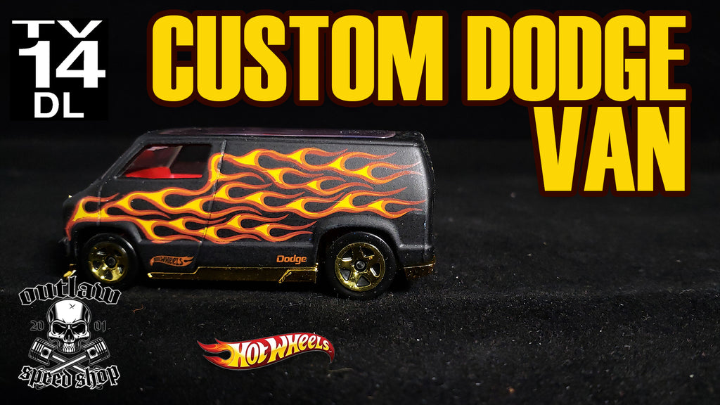 Custom Hot Wheels Dodge Van