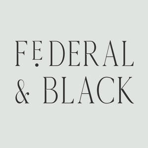 Shop Federal & Black | A thoughtfully curated collection of luxuries for your home, closet and bath