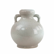 Load image into Gallery viewer, Shop our Rustic Blanc De Chine Vase with Two Handles at Federal & Black