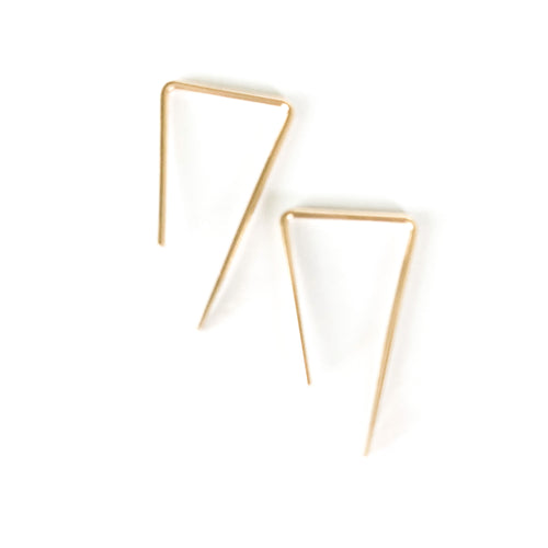 Shop the Weekender Earrings in 14k gold filled at Federal & Black
