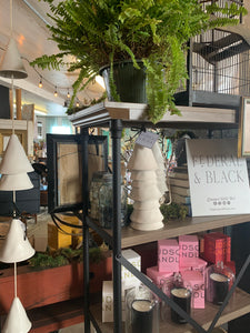 Shop our ivory ceramic wind chimes at Federal & Black