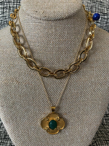 Shop the Chunky Link Chain in Brass 14K Gold Plated by Jane Winchester Jane Win at Federal & Black