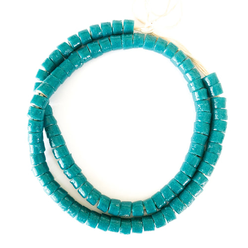 Shop this string of handmade turquoise beads necklace and others at Federal & Black