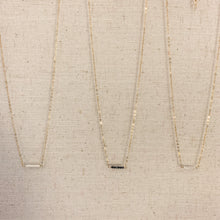 Load image into Gallery viewer, Delicate 14k gold & Seed Pearl Spinel Necklace at Federal & Black