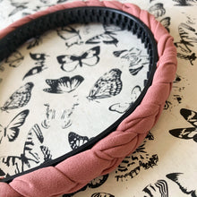 Load image into Gallery viewer, Braided Headband in Mauve Dusty Rose at Federal & Black