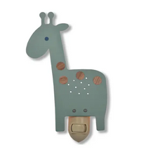 Load image into Gallery viewer, Giraffe Nightlight in Turquoise