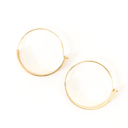 Shop the Gold Plated Bar & Hoop Earrings at Federal & Black