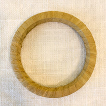 Load image into Gallery viewer, Shop our raffia wrapped bangle bracelets & bamboo bangles at Federal & Black